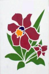 vom Blumen-Verkaufs-Pavillion