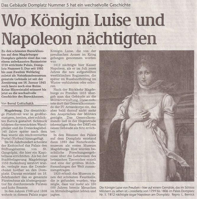 Koenigin_Luise_von_Preussen_1812_Domplatz_Repro_L_Bernick